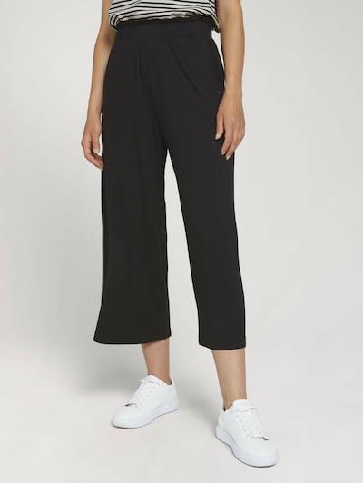 TOM TAILOR DENIM Kalhoty - černá, Model/ka