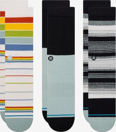 Stance Sportovní ponožky - chladná modrá / žlutá / pastelově zelená / červená / černá, Produkt