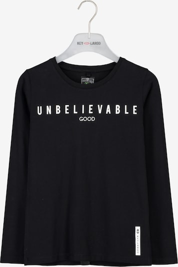 Key Largo Shirt in Black / White, Item view