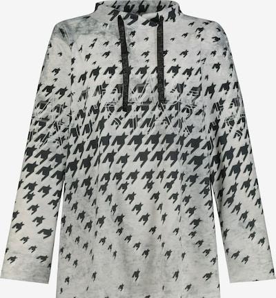 Gina Laura Shirt in schwarz / offwhite, Produktansicht