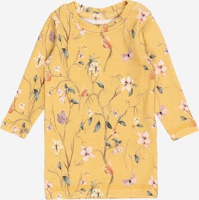 NAME IT Camiseta 'FIOLA' en mostaza / mezcla de colores, Vista del producto