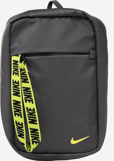 Nike Sportswear Schoudertas 'Advance' in de kleur Geel / Grijs, Productweergave