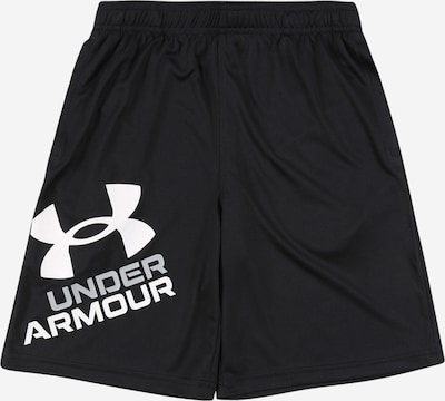 UNDER ARMOUR Sporthose 'Prototype 2.0' in schwarz / weiß, Produktansicht