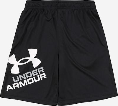 UNDER ARMOUR Sporthose 'Prototype 2.0' in schwarz / weiß, Produktansicht
