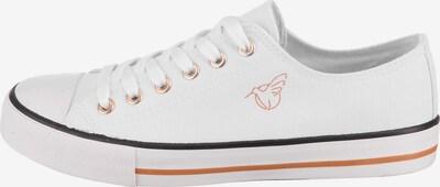 Lynfield Sneaker in orangerot / schwarz / weiß, Produktansicht
