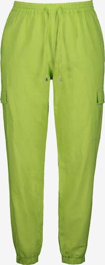 Studio Untold Cargobroek in de kleur Limoen, Productweergave
