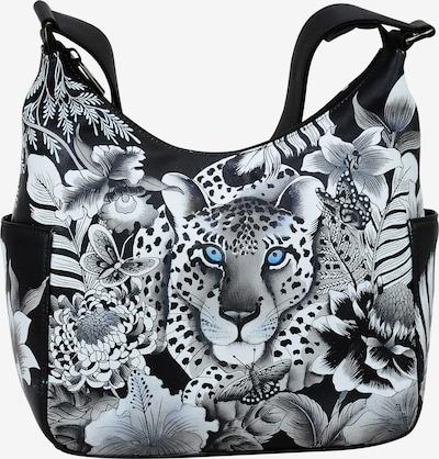 ANUSCHKA Hobo 'Cleopatra's Leopard' aus handbemaltem Leder in mischfarben, Produktansicht