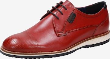 SIOUX Schnürschuh ' Quintero-710-H ' in Rot