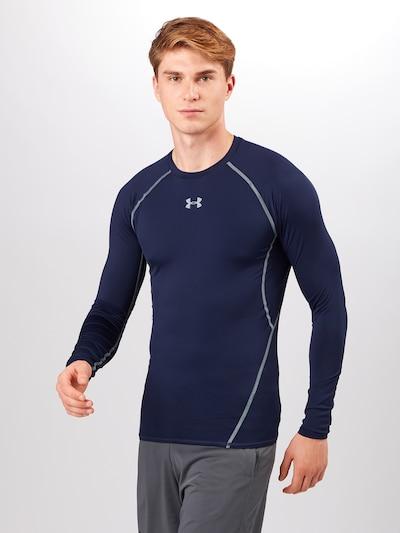 UNDER ARMOUR Funktionsskjorte i navy / hvid-meleret, Modelvisning