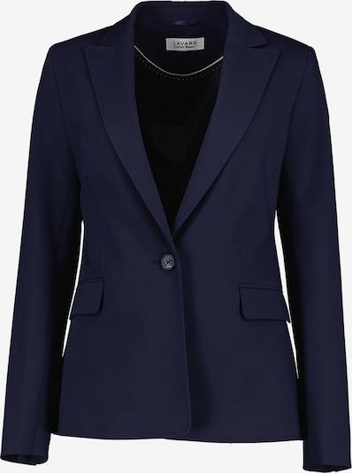 Lavard Blazer mit leicht tailliertem Schnitt in dunkelblau, Produktansicht