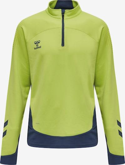 Hummel Sportsweatshirt in navy / limette, Produktansicht