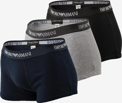 Emporio Armani Trunks in blau / grau / schwarz, Produktansicht