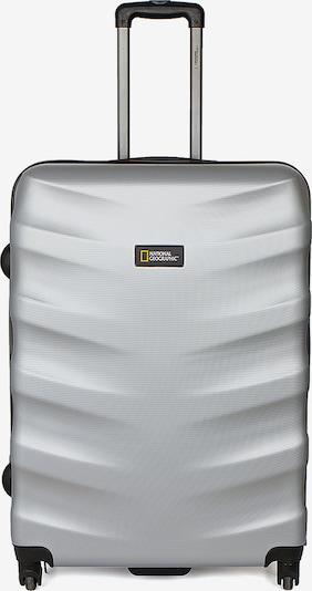 National Geographic Hartschalenkoffer 'Arete' in silber, Produktansicht