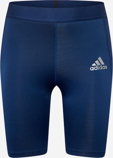 Pantaloni sport ADIDAS PERFORMANCE pe albastru / gri argintiu, Vizualizare produs