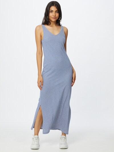 ARMEDANGELS Kleid 'MADALENA' in blau / weiß, Modelansicht