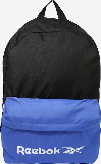 Sportinė kuprinė iš REEBOK , spalva - mėlyna / juoda, Prekių apžvalga
