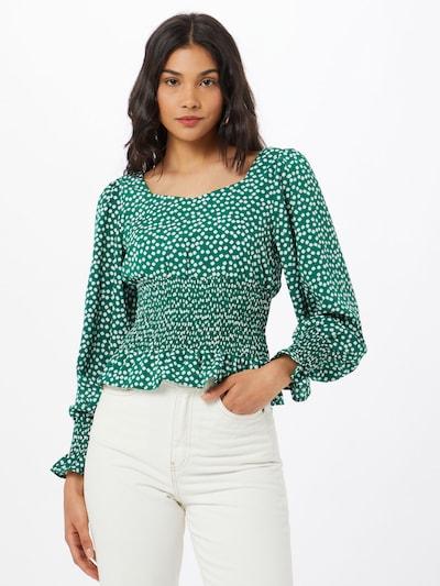 zöld / fehér Rut & Circle Blúz 'LIV', Modell nézet