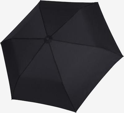 Doppler Regenschirm 'Zero' in schwarz, Produktansicht
