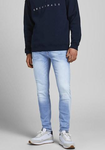 JACK & JONES Jeans 'Liam' i blå