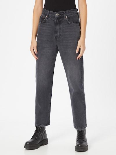Gina Tricot Jeans 'Unni' in black denim, Modelansicht