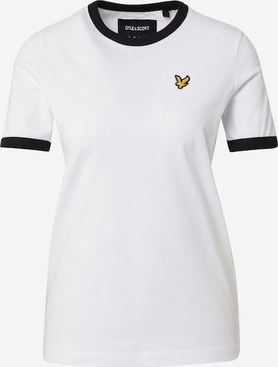 Maglietta 'Ringer' Lyle & Scott di colore nero / bianco, Visualizzazione prodotti