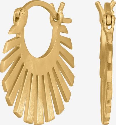 Nordahl Jewellery Ohrringe 'Sun52' in gold, Produktansicht