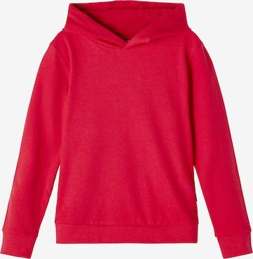 NAME IT Sweatshirt i röd