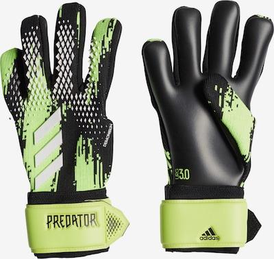 ADIDAS PERFORMANCE Handschuh in neongrün / schwarz, Produktansicht