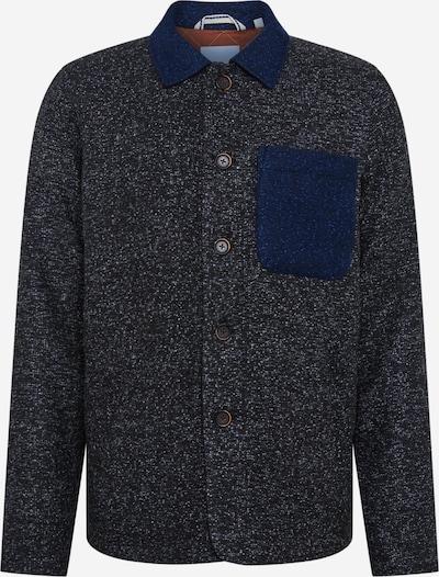 anerkjendt Manteau mi-saison en bleu / gris foncé, Vue avec produit