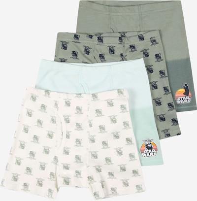 GAP Unterhose in hellblau / khaki / mint / weiß, Produktansicht