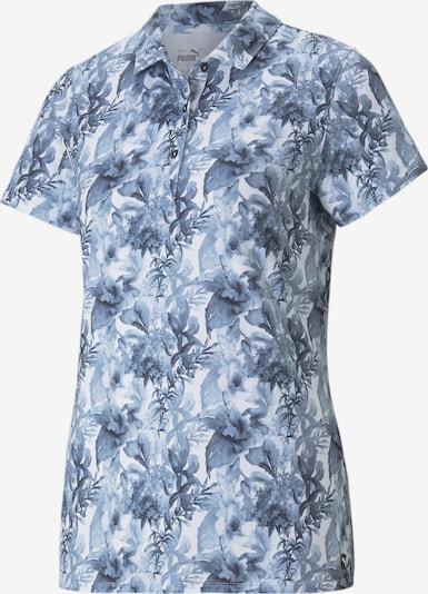 PUMA Functioneel shirt in de kleur Blauw / Wit, Productweergave