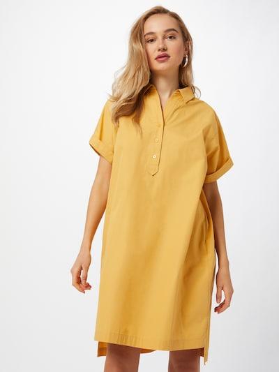 Rochie tip bluză 'Wajoni' OPUS pe galben auriu, Vizualizare model