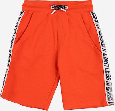 STACCATO Shorts in marine / orangerot / weiß, Produktansicht