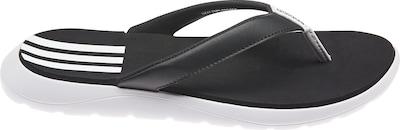ADIDAS PERFORMANCE Comfort Badelatschen in schwarz / weiß, Produktansicht