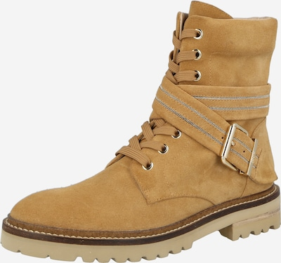 """STEFFEN SCHRAUT Къси ботуши с връзки 'CHAIN ROAD 95' в цвят """"пясък"""", Преглед на продукта"""