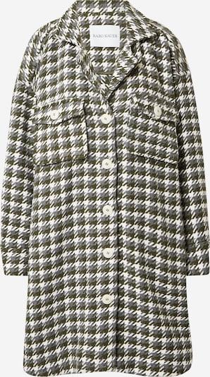 Karo Kauer Prijelazni kaput 'Willow' u siva / tamo siva / bijela, Pregled proizvoda