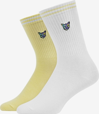 SNOCKS Socken 'Pari' in gelb / weiß, Produktansicht