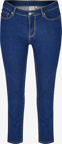 Jeans di Rock Your Curves by Angelina K. in blu