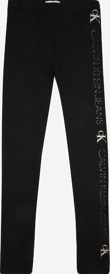 Calvin Klein Leggings en beige / noir, Vue avec produit