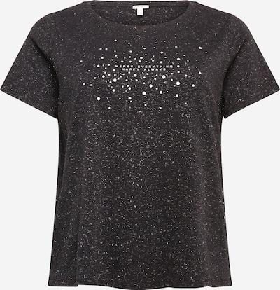 Esprit Curves Koszulka w kolorze czarny / białym, Podgląd produktu