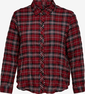 ONLY Carmakoma Bluse 'Pini' in Rot