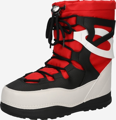 BOGNER Snow Boots 'PARK CITY' in Fire red / Black / White, Item view