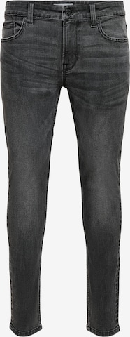 Jeans 'Warp' di Only & Sons in nero