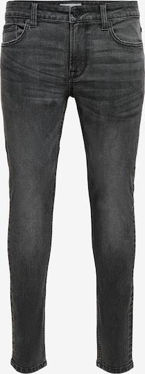 Only & Sons Jeans 'Warp' in de kleur Black denim, Productweergave