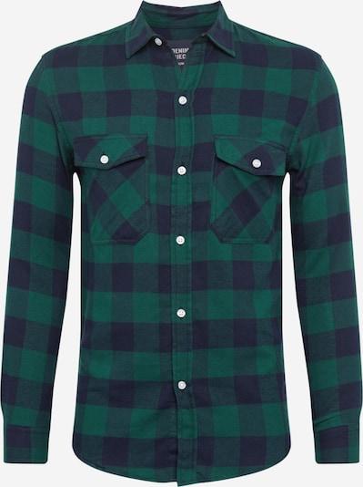 Denim Project Overhemd 'SAMI' in de kleur Navy / Groen, Productweergave