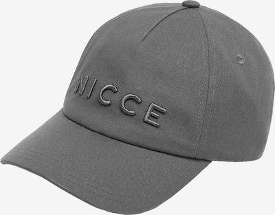 Șapcă 'ARGON' Nicce pe gri deschis, Vizualizare produs