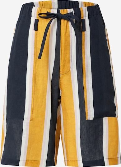 JNBY Панталон в нейви синьо / златистожълто / бяло, Преглед на продукта