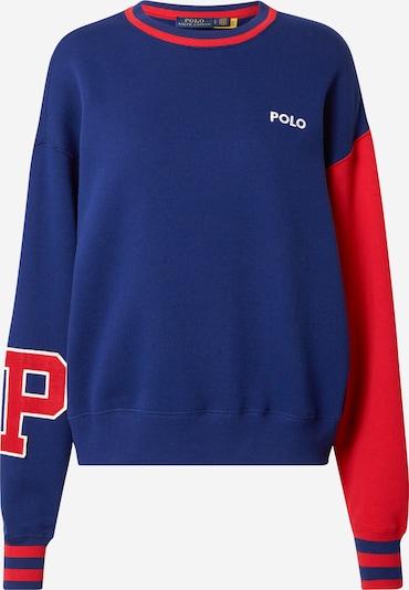 Polo Ralph Lauren Μπλούζα φούτερ σε σκούρο μπλε / κόκκινο / λευκό, Άποψη προϊόντος