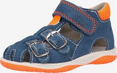 RICHTER Lage schoen in de kleur Blauw / Sinaasappel, Productweergave