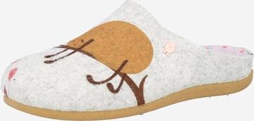Hot Potatoes Kapcie 'MUSAU' w kolorze szary
